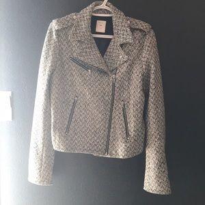 Gap side zip jacket 45% wool